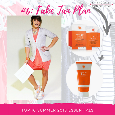 MappCraft | Summer 2018 Essentials #6 Fake Tan Plan