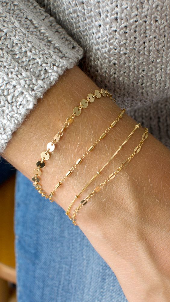 Spring 2019 Trend #3: Delicate Layered Jewelry