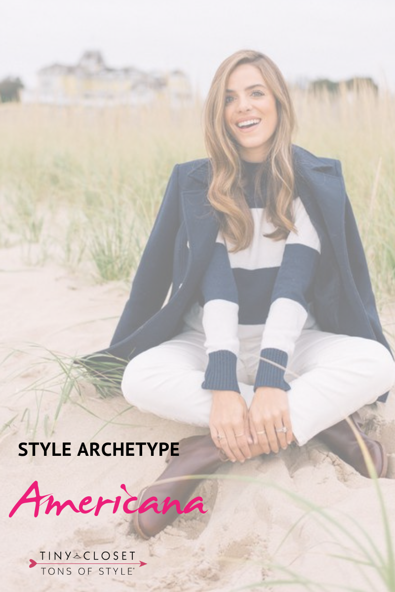 Tiny Closet, Tons of Style | Are you Americana? Click here to take my Style Archetypes Quiz