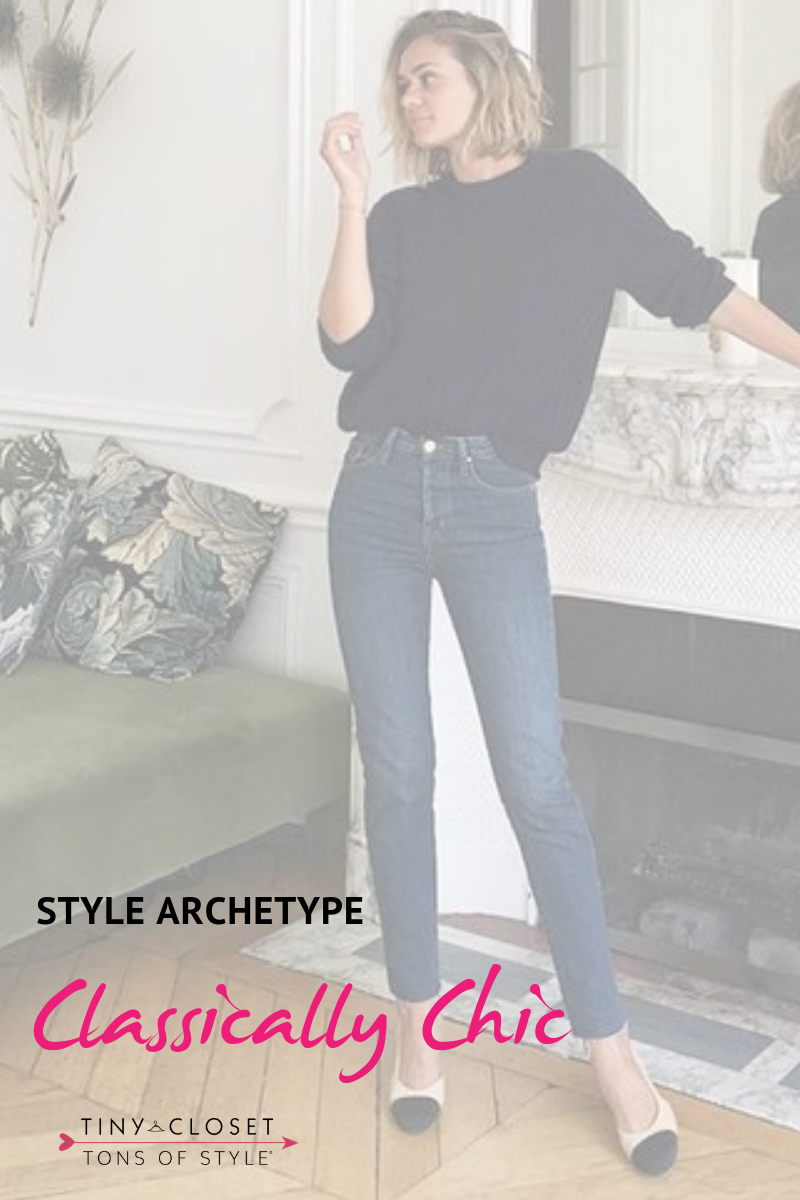 Tiny Closet, Tons of Style | Are you Classically Chic? Click here to take my Style Archetypes Quiz
