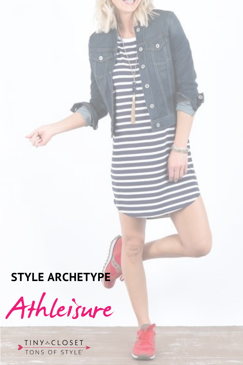 Tiny Closet, Tons of Style | Are you Athleisure? Click here to take my Style Archetypes Quiz