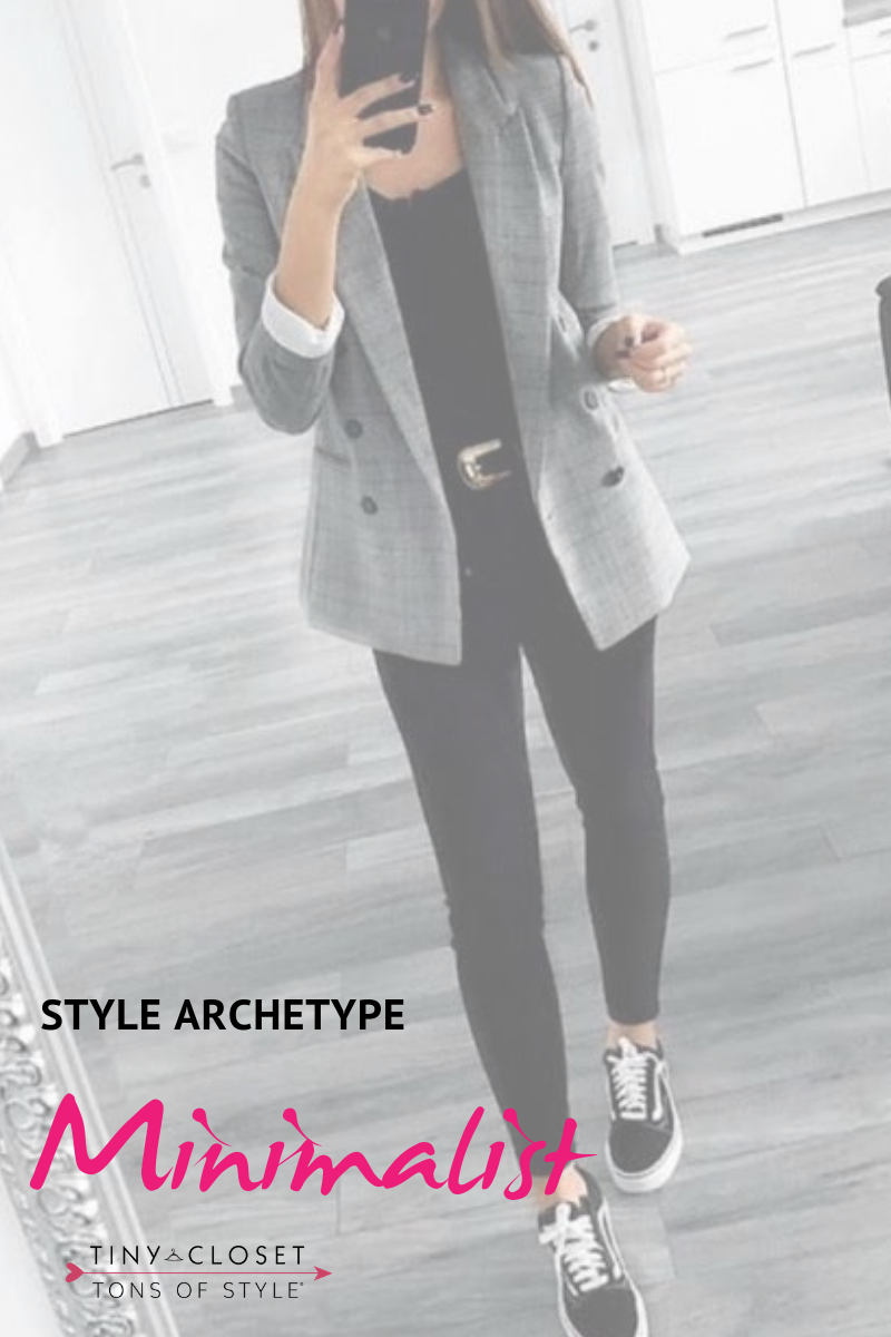 Tiny Closet, Tons of Style | Are you Minimalist? Click here to take my Style Archetypes Quiz