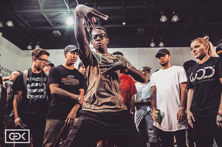 Dancer at the LA World of Dance