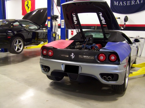 Ferrari Oil Change >> Luxury Vehicle Repair Specialists Dc Baltimore Philly