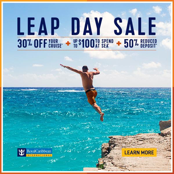 Royal Caribbean Leap Day Sale