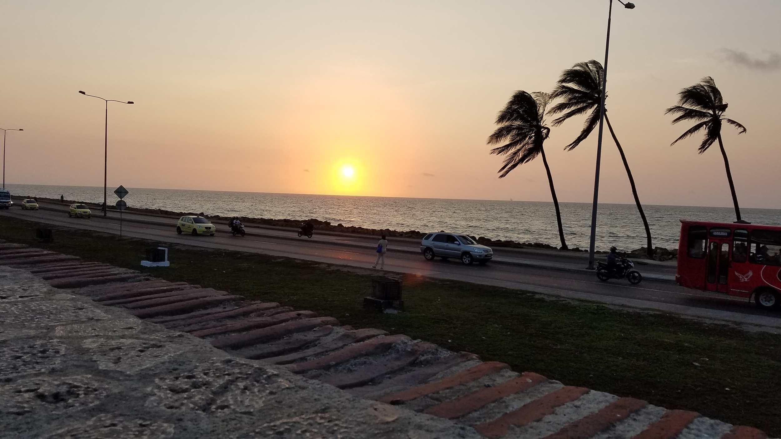 Sunset In Cartagena