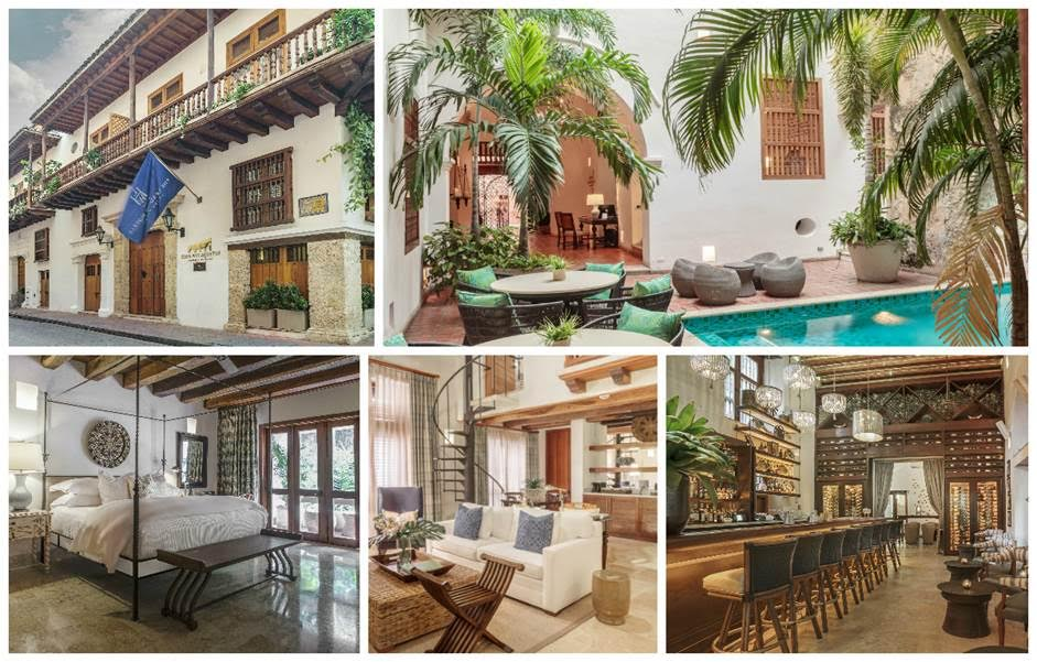 Colonial haven. Tucked inside the historic walled city sits a stunning courtyard oasis flanked by a 17th-century stone wall. The vibe is effortlessly chic. Suites are plush. Staff is super attentive, and the buffet breakfast is lavish.