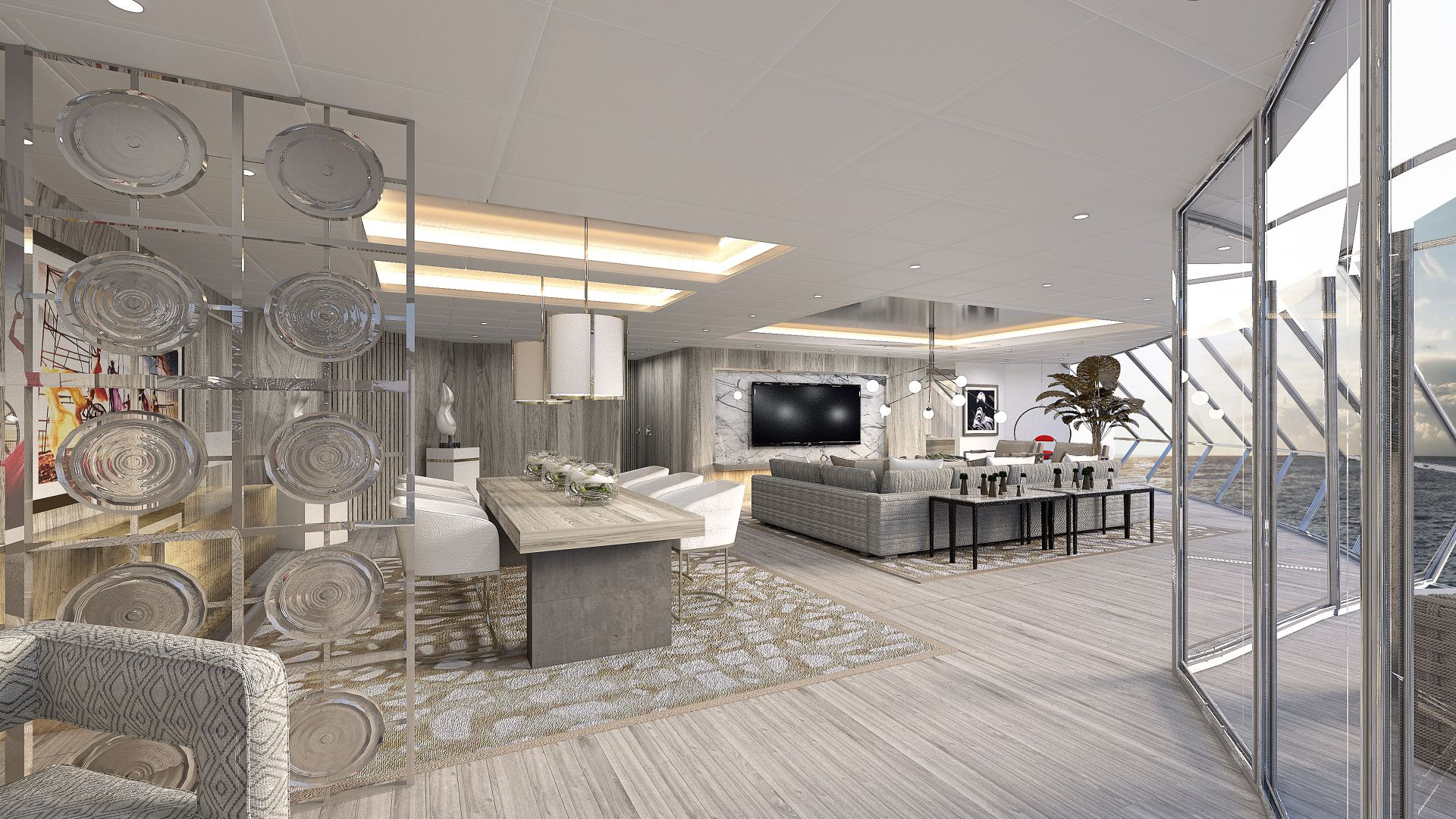 First Look - Celebrity Edge: Iconic Suite