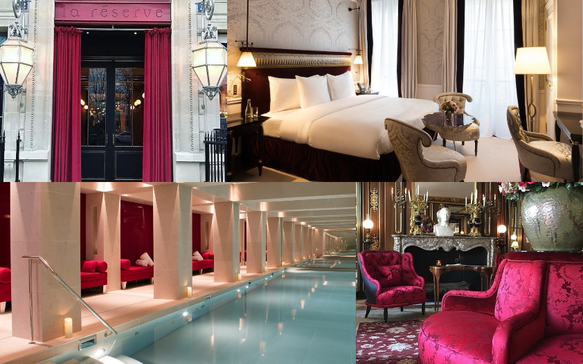 Parisian chic. Gracious butler service is de rigeur at this insider's address just off the Champs-Elysées. The former residence of designer Pierre Cardin makes you feel part of a discreet members club, complete with Michelin-starred gastronomy.