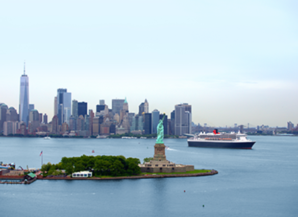 - Cruise From New YorkWith Cunard.