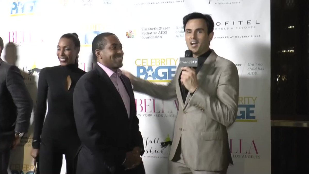 Stephen Scott, the CEO of the  #luxurytravel  brand  @TravelHub365 . Interview with Chance Spiessbach of Chance TV  @whereischancetv  and  @CelebrityPageTV  at the  @BellaLAMag  launch.