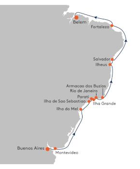 Brazil Cruise -