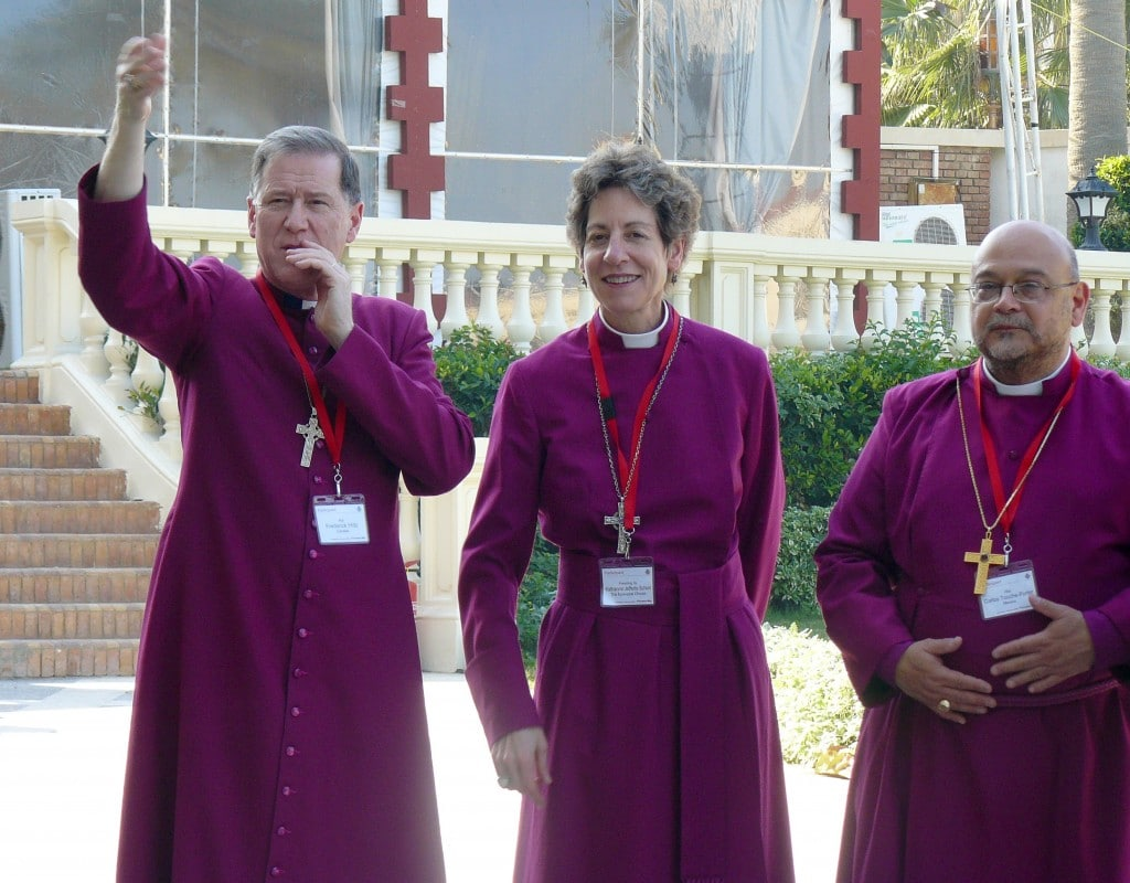A couple of the pro-gay Anglican bishops.
