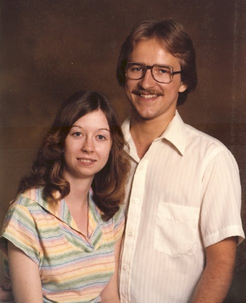 Engagement picture in 1981.