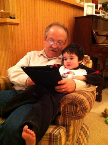 Craig with grandson, Peter.