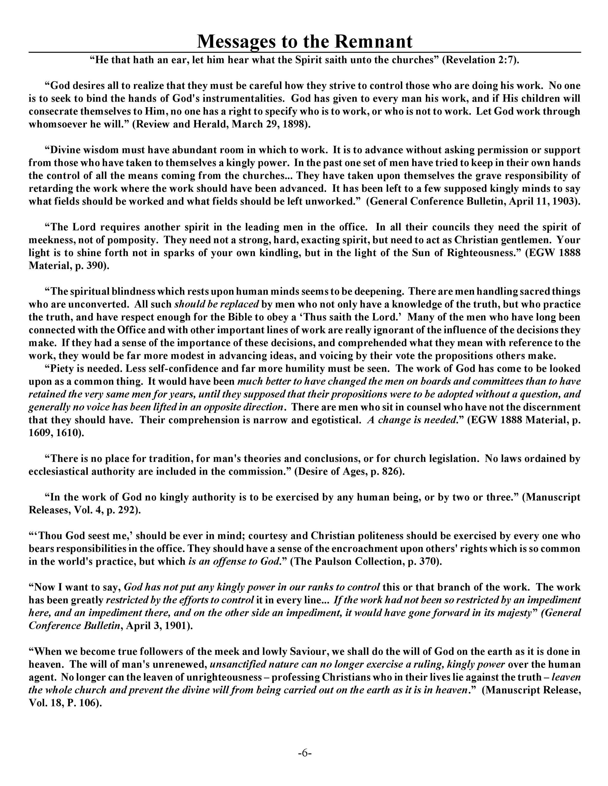 The Closing of a Texas Church — Fulcrum7
