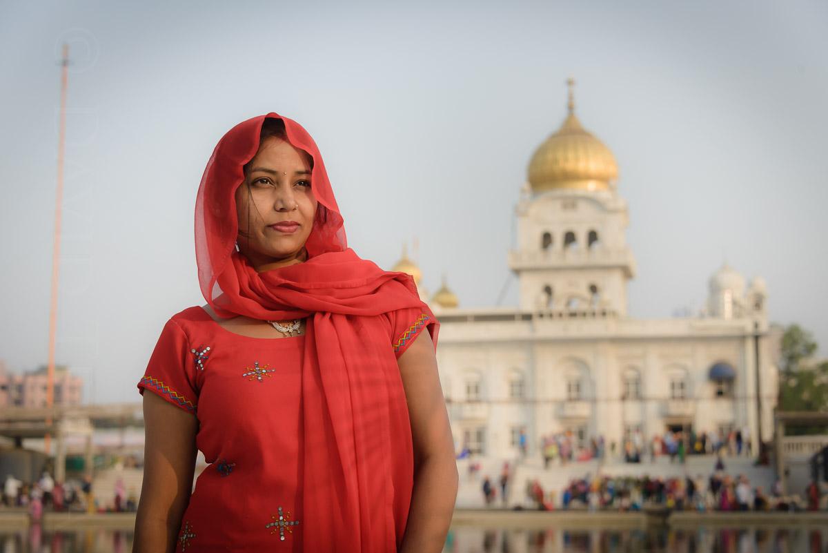 Bangla Sahib Gurudwara, Delhi, India