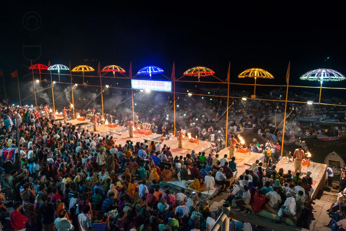 The Aarti Ceremony