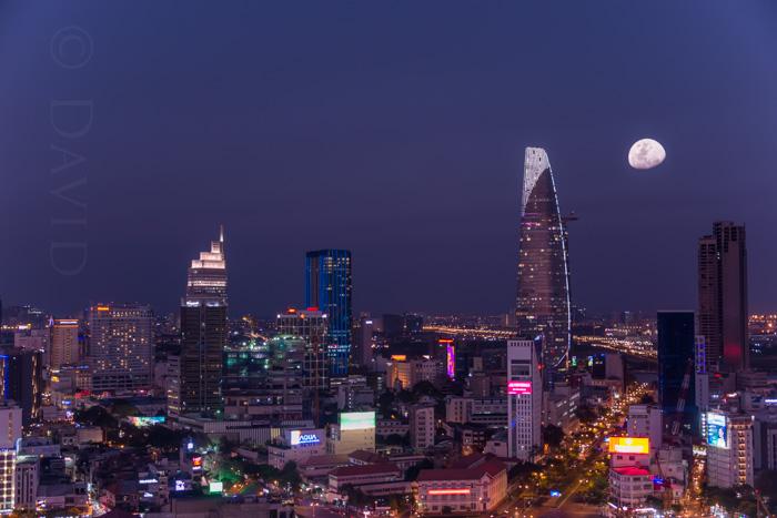 Saigon Skyline, Vietnam