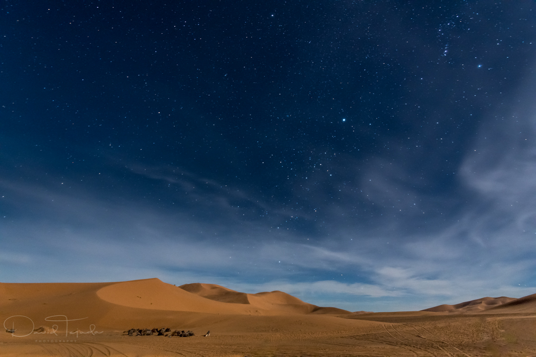 30 second exposure, Sahara Desert, Morocco