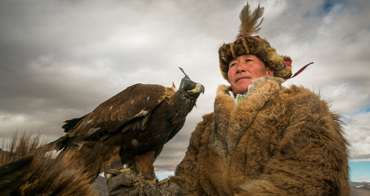 Golden Eagle Hunter, Mongolia