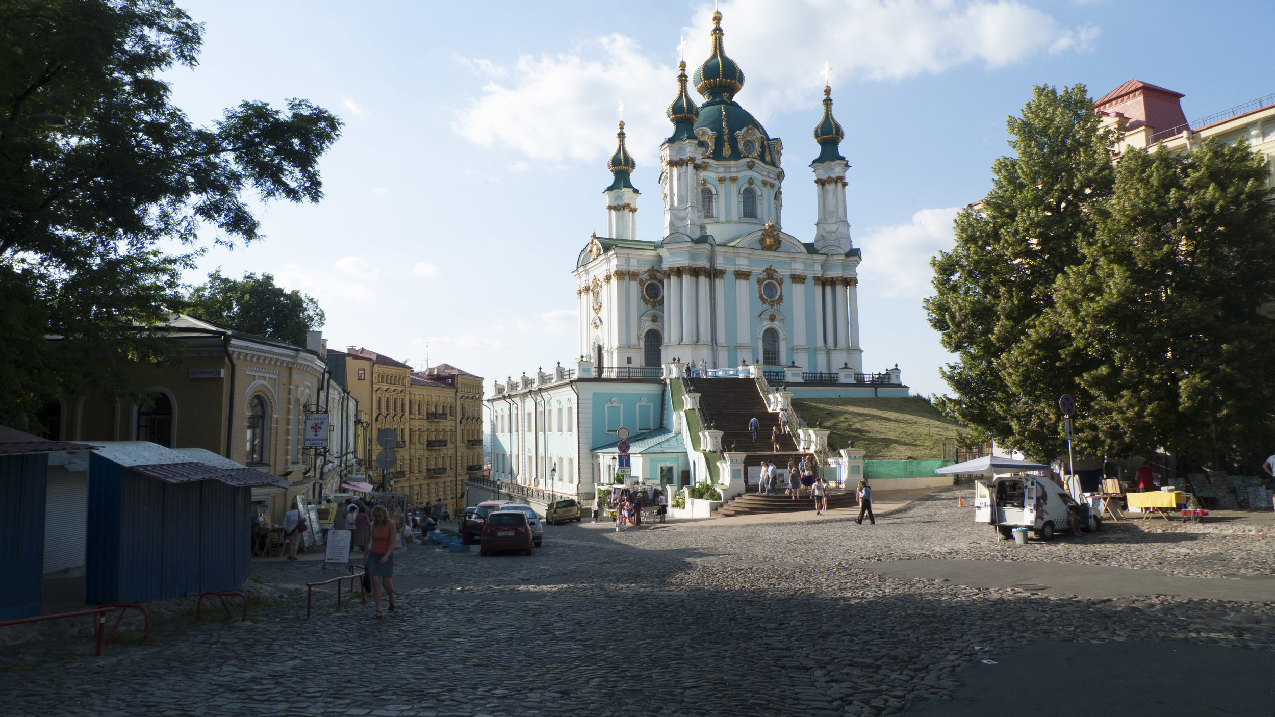 St. Andrew's Cathedral, Kiev, 2013