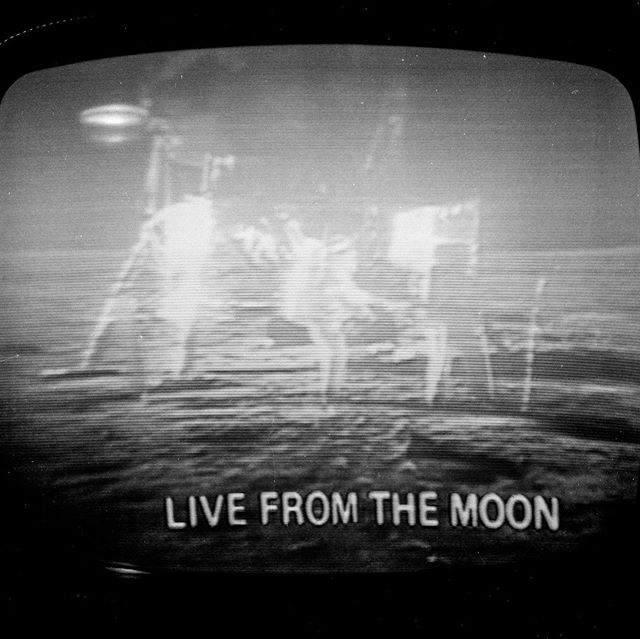 When thinking about what to post to mark the 50th anniversary of the first steps onto the moon, a series of negatives acquired a few years ago containing 3 missions to the moon including Apollo 11 was the obvious choice. They are not crisp high fidelity views we are accustomed to seeing, but noisy photographs taken of the event unfolding on a TV screen. To this date, the Apollo 11 moon landing was one of the most watched events of all time with one in six around the world collectively tuned in on Sunday July 20 1969. This was the world's very first global media event with everyone seeing the same grainy transmission from the moon simultaneously. . The moon landing was an incredible technological achievement and a defining moment. It was the beginning of the end of the space race, a period responsible for injecting the idea of exploration of the cosmos into the popular imagination. Would Star Trek, Space 1999, or Star Wars have existed without it? Looking back from 50 years in the future, the moment feels easy –– That visiting the moon was a natural event of the 20th century. But the Apollo 11 landing could have easily gone wrong. When listening to recordings of the landing, you may notice a pause in response from Houston when Armstrong announces that they landed in the Sea of Tranquility. They weren't supposed to be in the Sea of Tranquility, but that's where they landed after overshooting the original landing location. There's a reason why only 12 have ever stepped onto the surface of the moon, and none have made the journey since 1972. Travelling to the moon is a very difficult, risky, and expensive thing to do. Would anyone have made a step onto the moon had Apollo 11 ended in disaster? Luck was in their favour that day. ...continued in the comments
