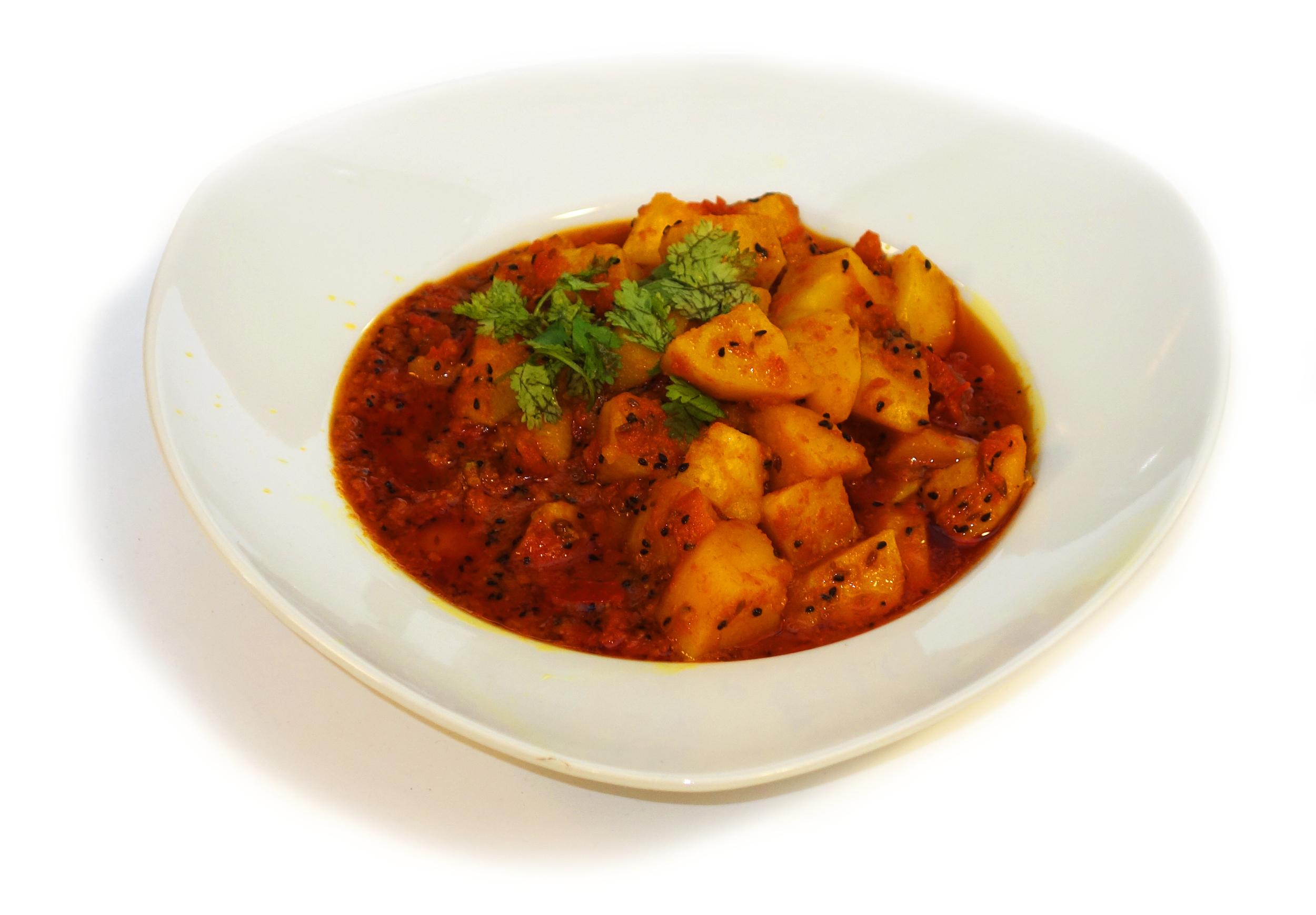 ALOO TIMATAR KI TARKARI    Potato and Tomato Curry