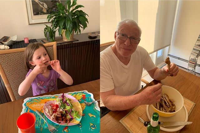 For #StopFoodWasteDay, Grandpa gives a lesson on getting every last bit off the turkey bone! What's your little step?