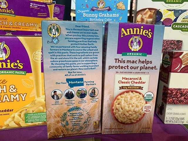 exciting to learn that regenerative Mac and Cheese is here to stay! Nice work ⁦‪@sjsadowski‬⁩ ⁦‪@annieshomegrown‬⁩ ! #INFRA