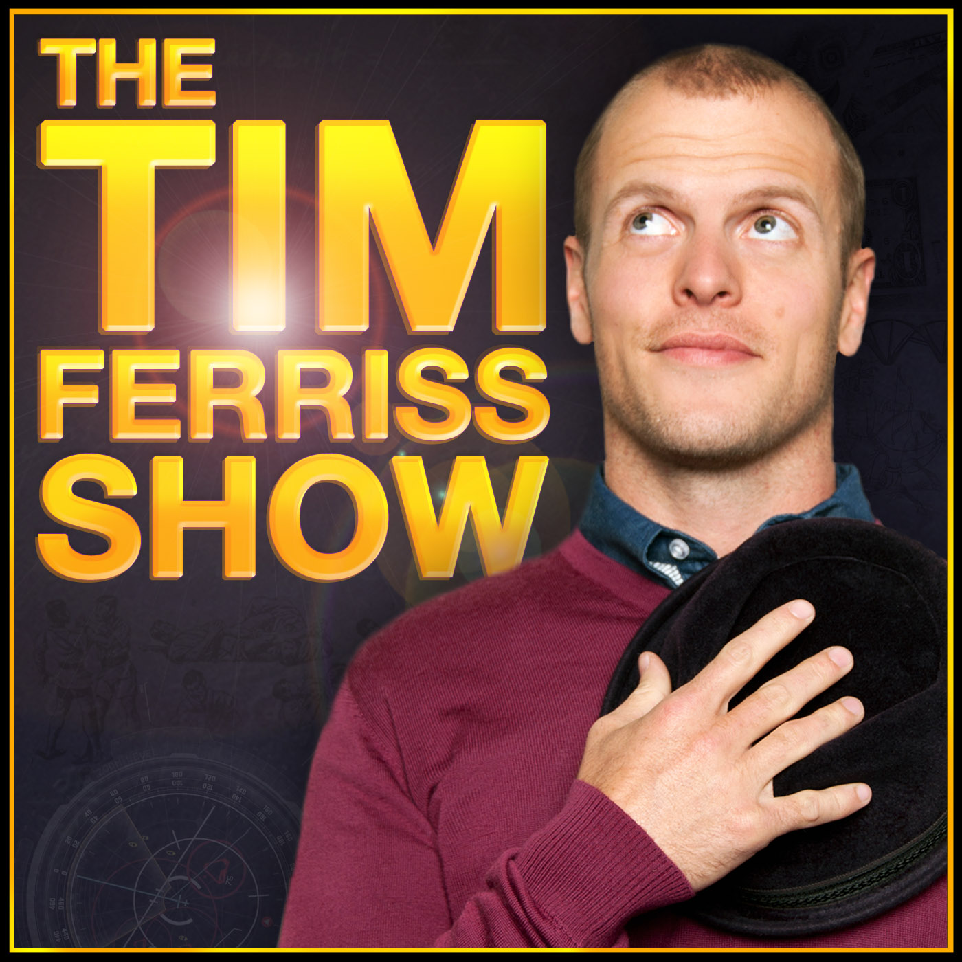 Tim Ferriss - 'The Human Guinea Pig' - find his podcast archive here...