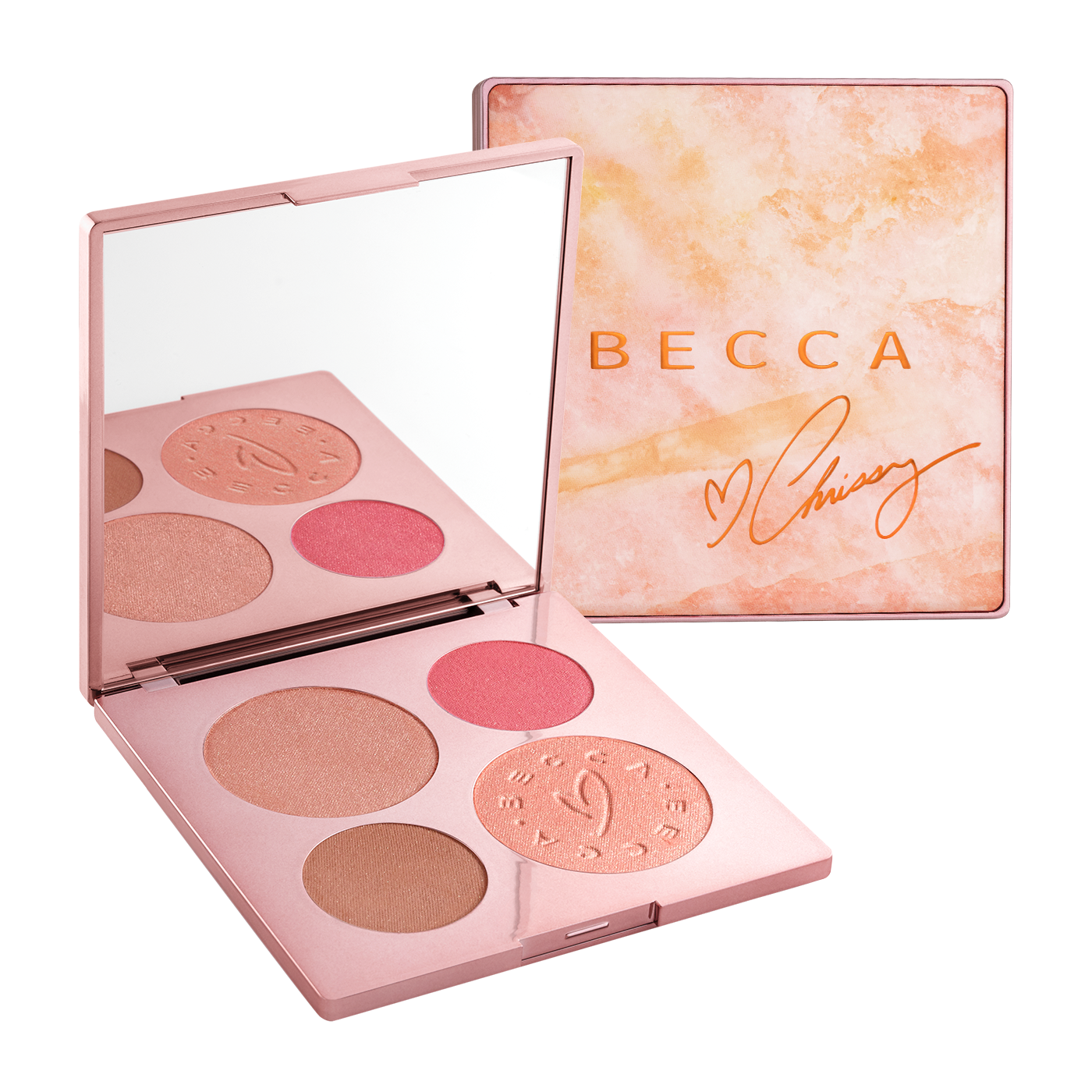 Becca x Chrissy Teigen Glow Face Palette,  £45 from Space NK *.