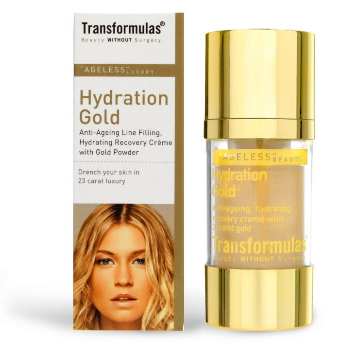 Transformulas Hydration Gold,  £22 from QVC .