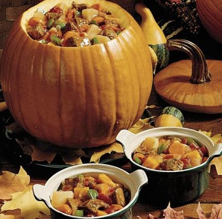 Peter Pumpkin Head Stew