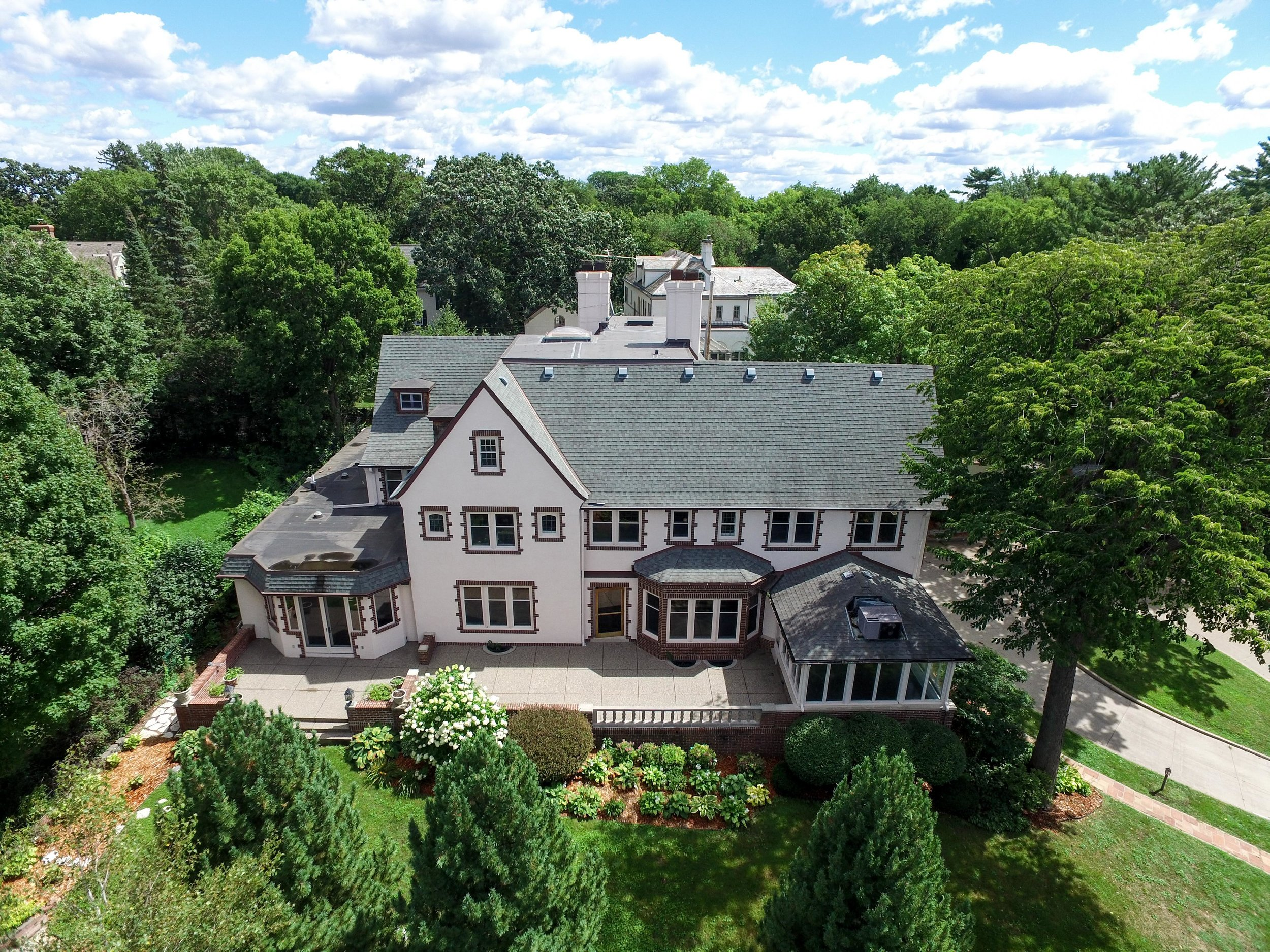 drone real estate photography