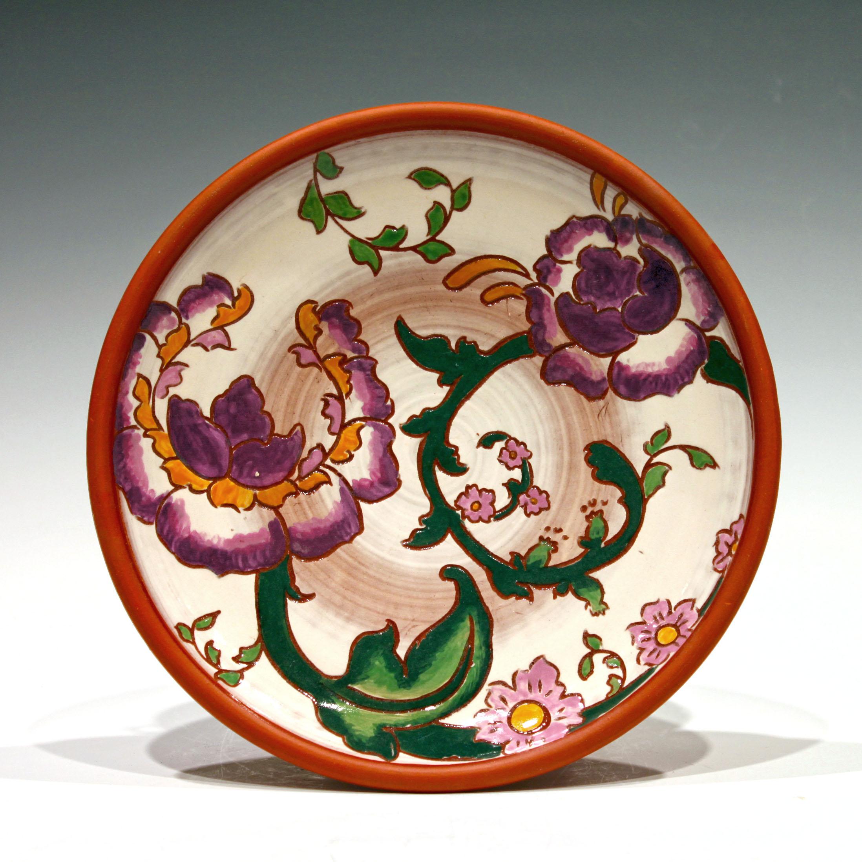 Purple Floral Plate.jpg