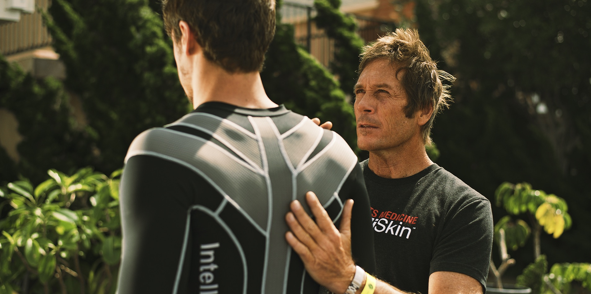 Dr. Tim Brown, founder of IntelliSkin, has branded Human Technology TM apparel that gives immediate results.