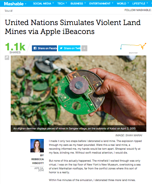 Critical Mass - UNMAS- Mashable.png