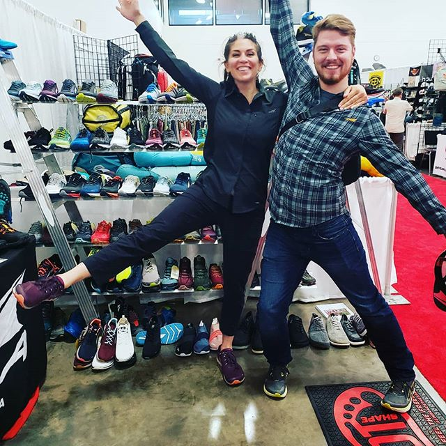 ORA 2019 is a wrap!! Great times, great retailers and reps. Thanks, Madison! . . . #aaoambassador #aaoontour #goaao #tradeshow #altrarunning #hydrapak #nikwax #skratchlabs #dmoscollective #snowline #wearerab #mysteryranch
