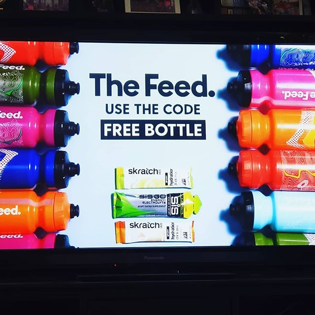 Tour de France ads...on point . . #skratchlabs #thefeed @skratchlabs #healthy #tourdefrance