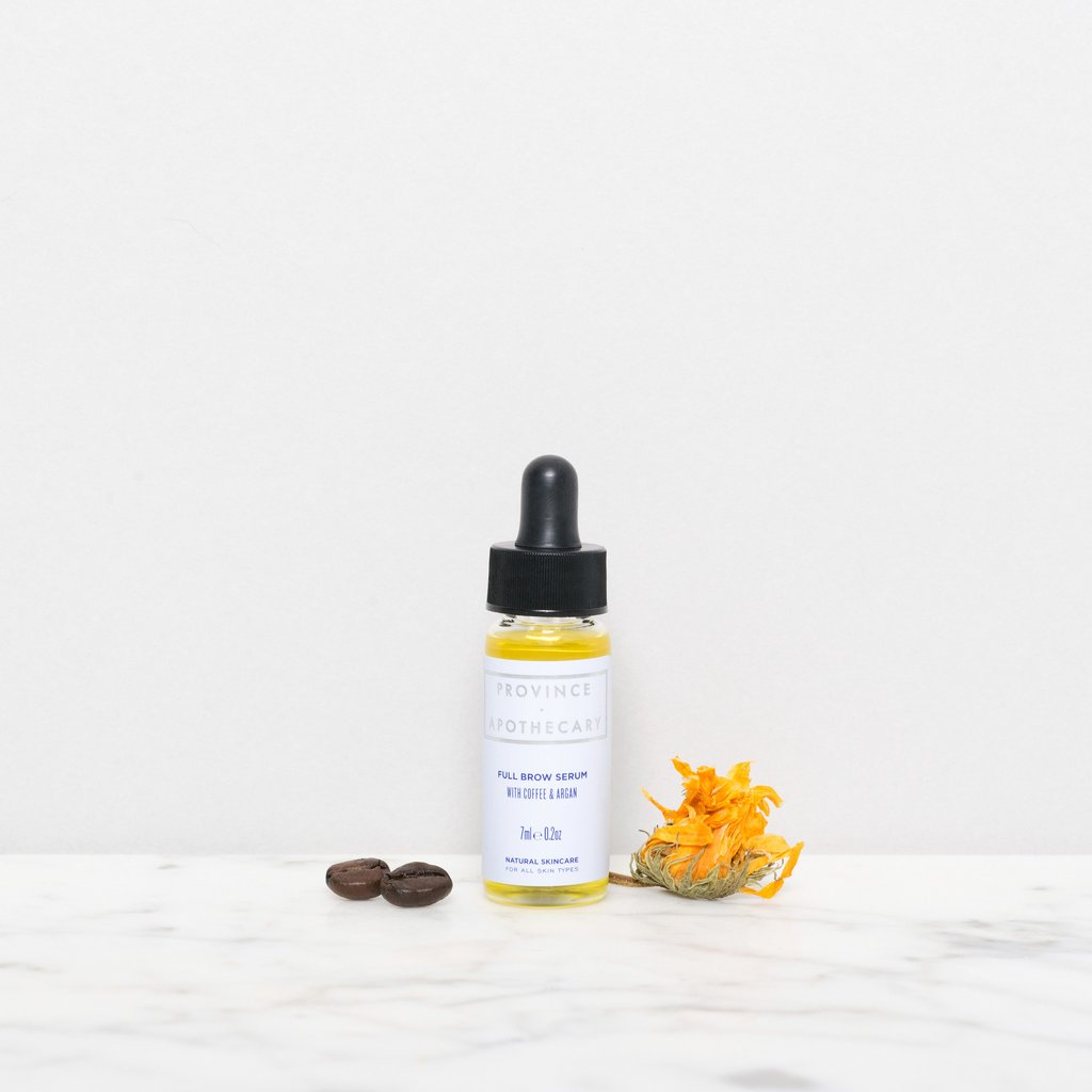 The 7ml bottle of the Serum is perfect for traveling but also acts as a more cost-effective way of sampling the Serum before committing to the larger bottle. (Image source: Province Apothecary)