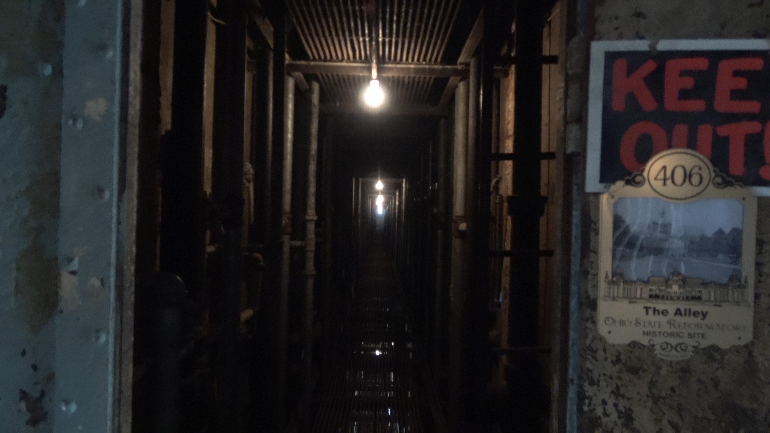 Creepy off-limits hallway