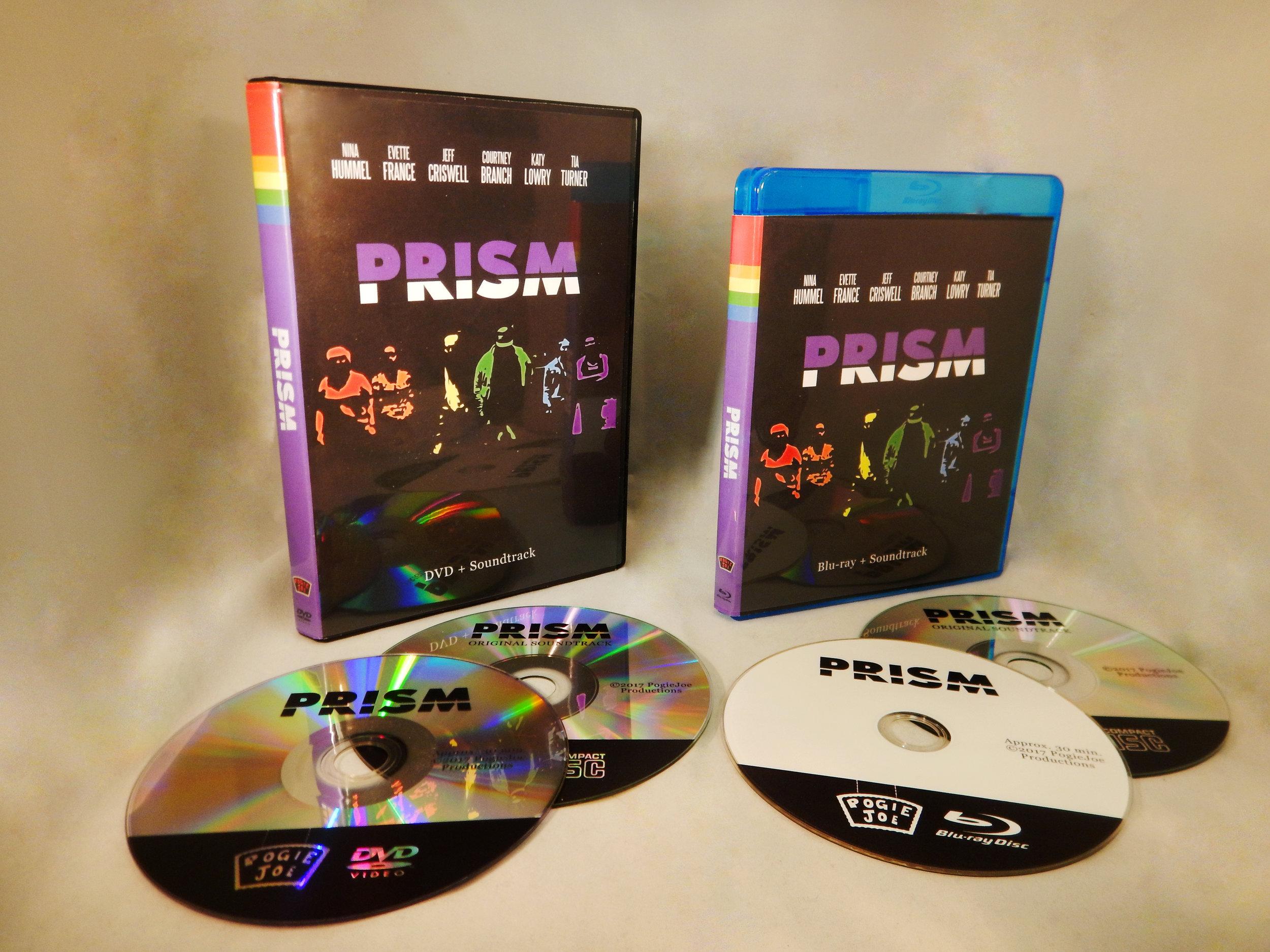 PRISM - Domestic Blu-ray $12International Blu-ray $22Domestic DVD $10International DVD $20