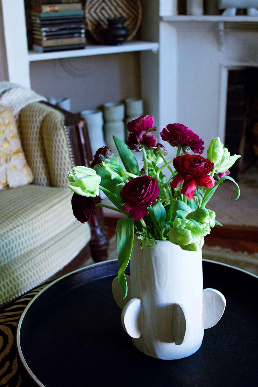 Floral arrangement by  Best Buds Botanicals .