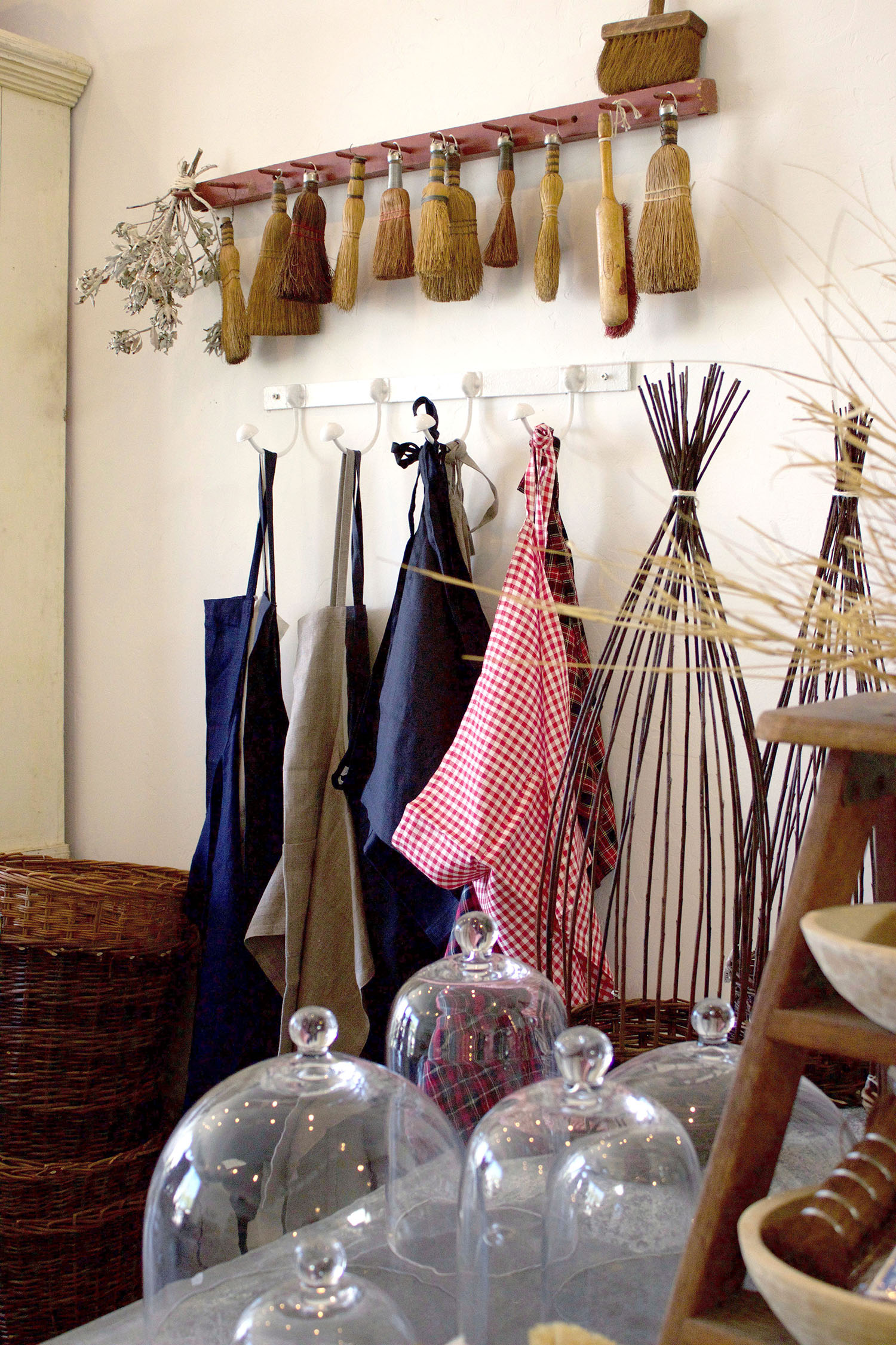 Handmade cleaning brushes and aprons promise to elevate your daily chores.