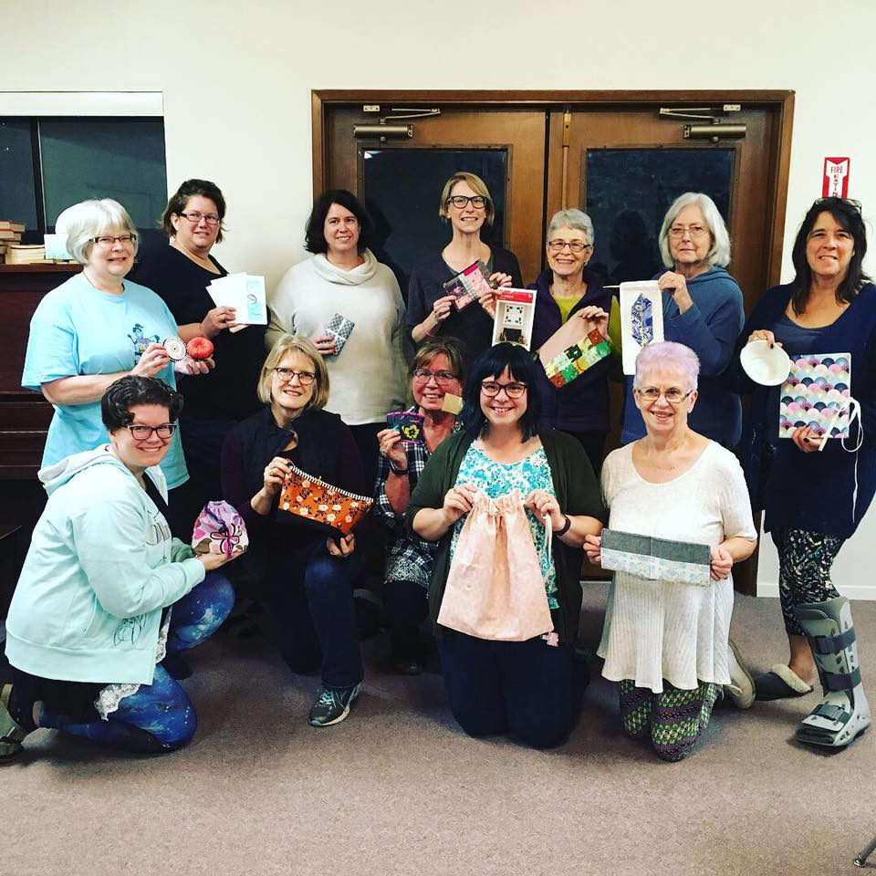 Our 2018 attendees had a blast swapping handmade items!