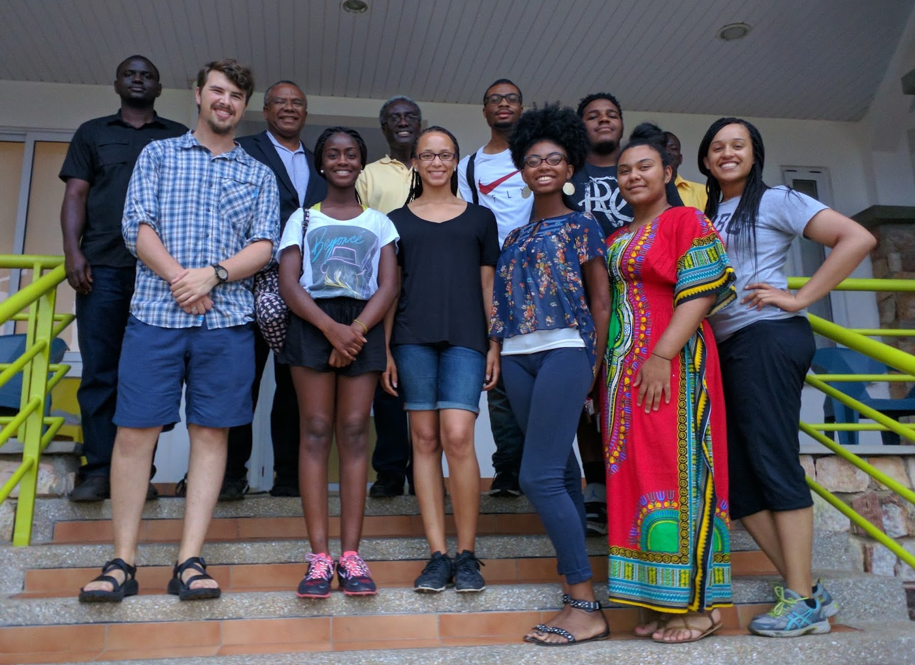 2016 cohort of the Southern University's international research experience for students in Accra, Ghana.