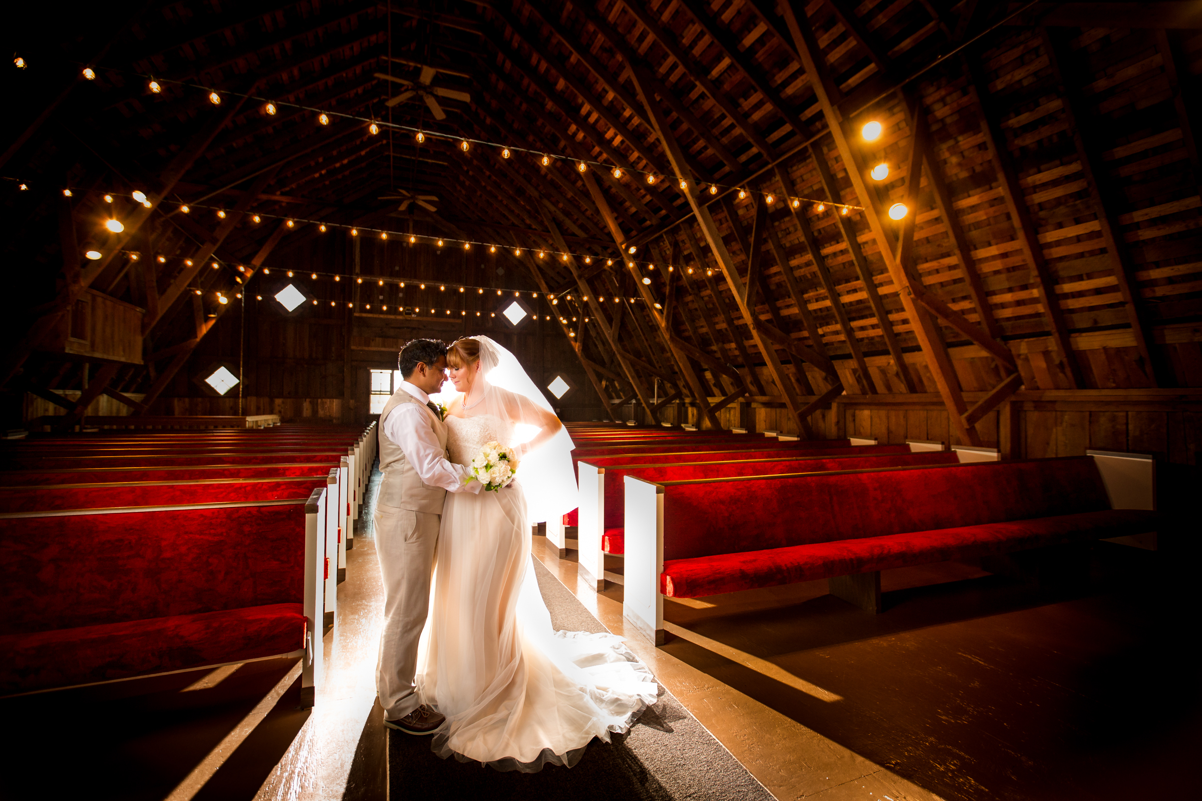 Arlington Washington Wedding, Rustic Barn Chapel at Stilly Brook Farm