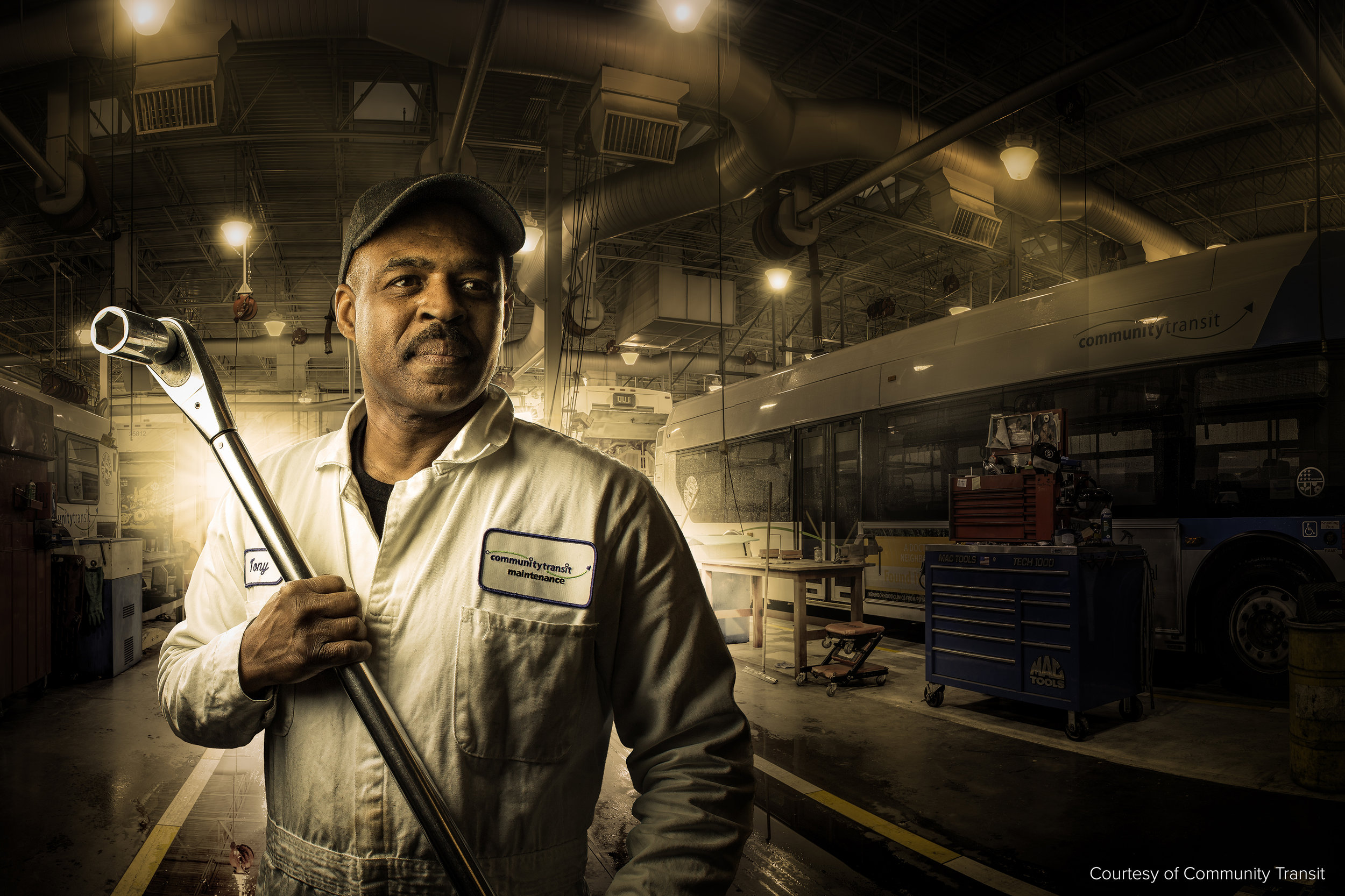Mechanic Portrait, Everett Washington