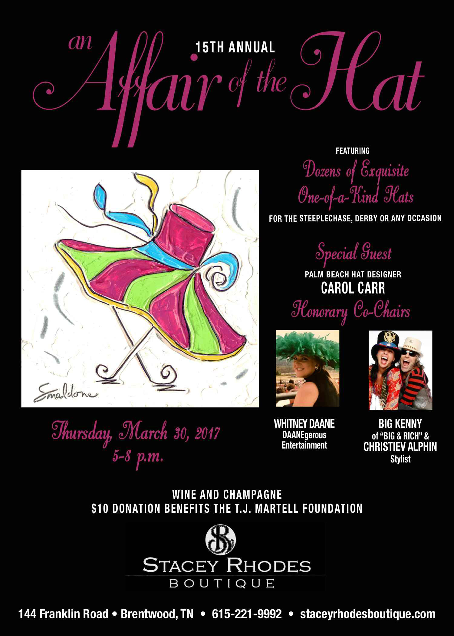 An Affair of the Hat Invitation